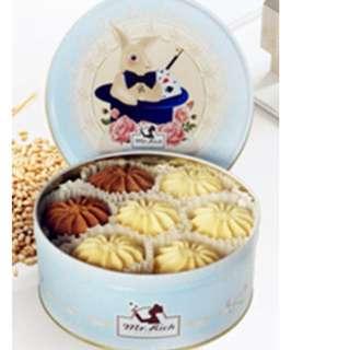 香港 魔術兔曲奇 比珍妮曲奇好吃喔 小2mix200g 三盒超商取貨免運