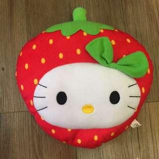 麥當勞 Hello Kitty 草莓抱枕