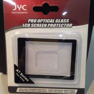 JYC Pro Optical Glass LCD Screen Protector For A7 Series Camera