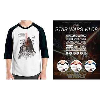 Kaos Raglan STAR WARS VII 08