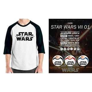 Kaos Raglan STAR WARS VII 01