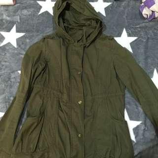 (留)軍綠外套