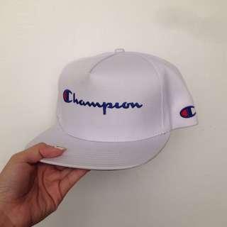 Champion 大logo帽