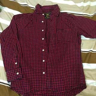 (代售)紅黑格子襯衫