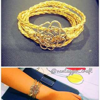 Gelang Lilit Rose Gold