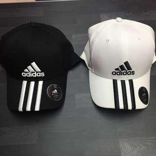 Adidas 經典老帽 黑白 愛迪達