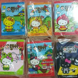Hello kitty fairy tales from mac donalds