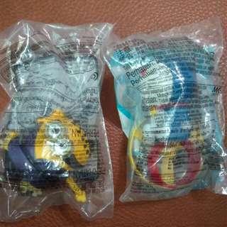 🚚 麥當勞玩具(小小兵,哆啦A夢)
