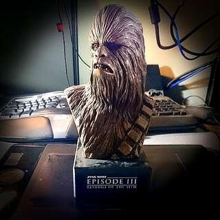 Limited Chewbacca Bronze Bust - Revenge Of The Sith
