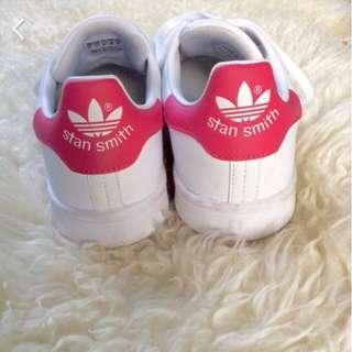 《英國代購》Adidas  Originals Stan Smith 粉紅 桃紅 EU38 / 23.5