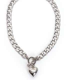 Juicy couture Banner Heart Necklace