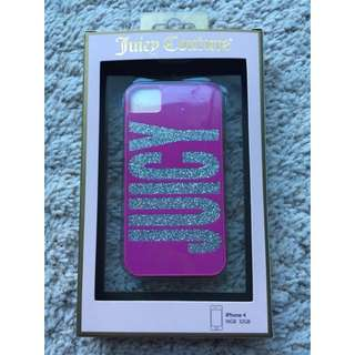 Authentic Juicy Couture iPhone 4/4s Cover