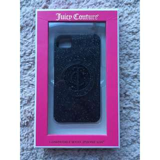 Authentic Juicy Couture iPhone 4/4S Cover (Brand New)