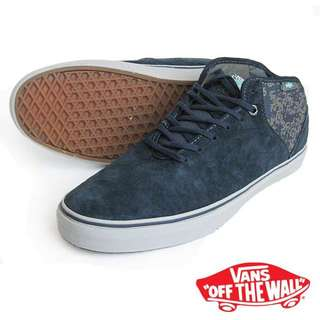 558a6baaf7 Vans Stage 4 Mid Skate Shoes - Gilbert AWS Navy on Carousell