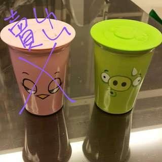 憤怒鳥雙層陶瓷杯