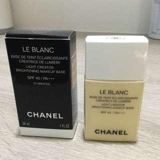 (降)Chanel 香奈兒珍珠光感超淨白防護妝前乳 SPF40/PA+++