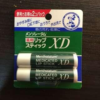 🎉降價🎉全新日本購回-曼秀雷敦護唇膏2個