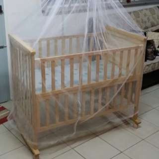 Almost New Baby cot
