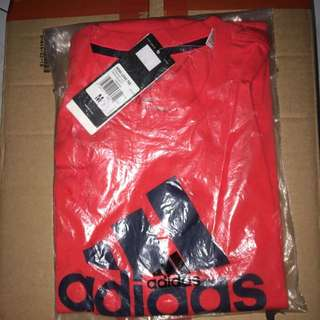 Adidas Logo Tee 100%new and Real