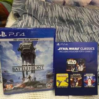PS4 星際大戰-戰場前線(有特典)附上4個小遊戲