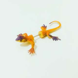 蜥蜴耳環  爬蟲類耳環