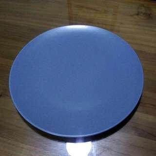 IKEA 餐盤 26cm 藍色