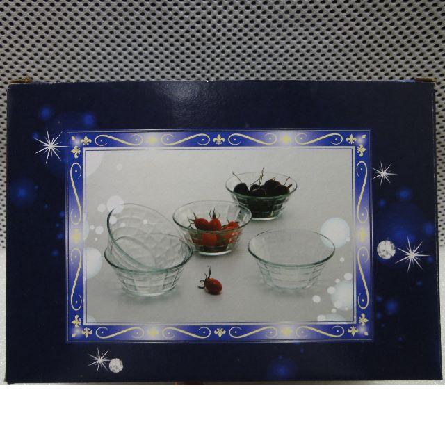 水果玻璃碗一組5個
