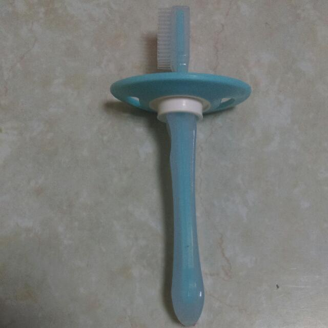 全新寶寶學習牙刷
