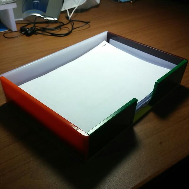 壓克力便條紙盒