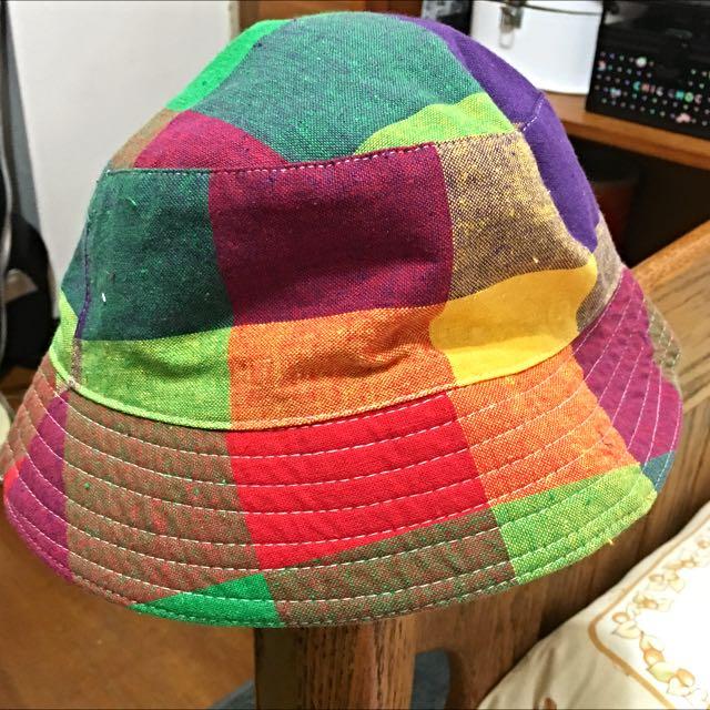 撞色漁夫帽(保留)