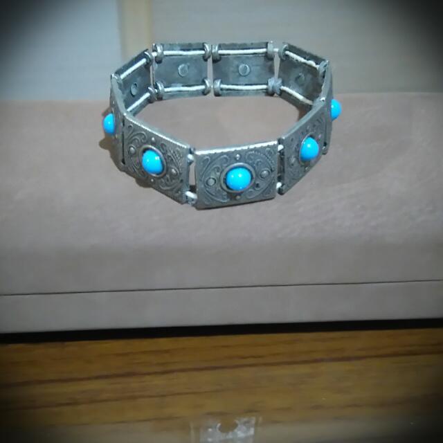 民族風藍珠手環