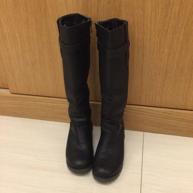 🌟基本款黑色長筒靴36號