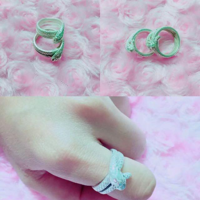 阿贊力礦 靈蛇戒指