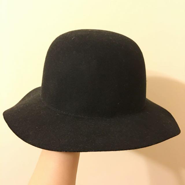 黑色 紳士帽 正韓