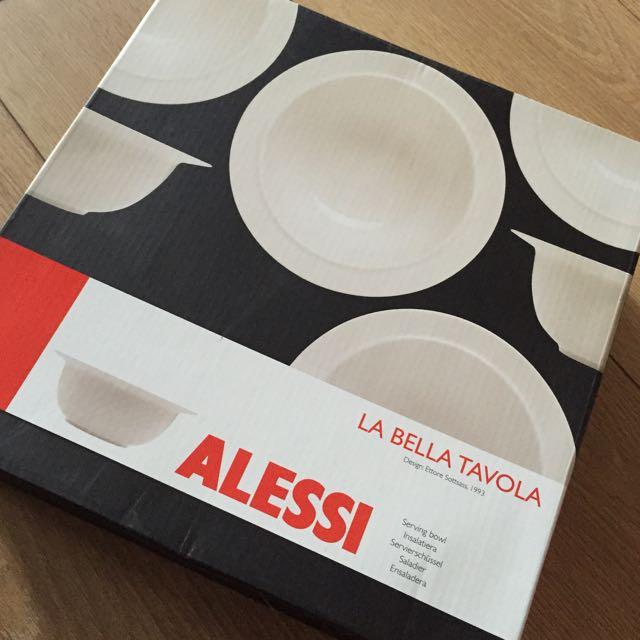 [全新] ALESSI瓷 大湯碗