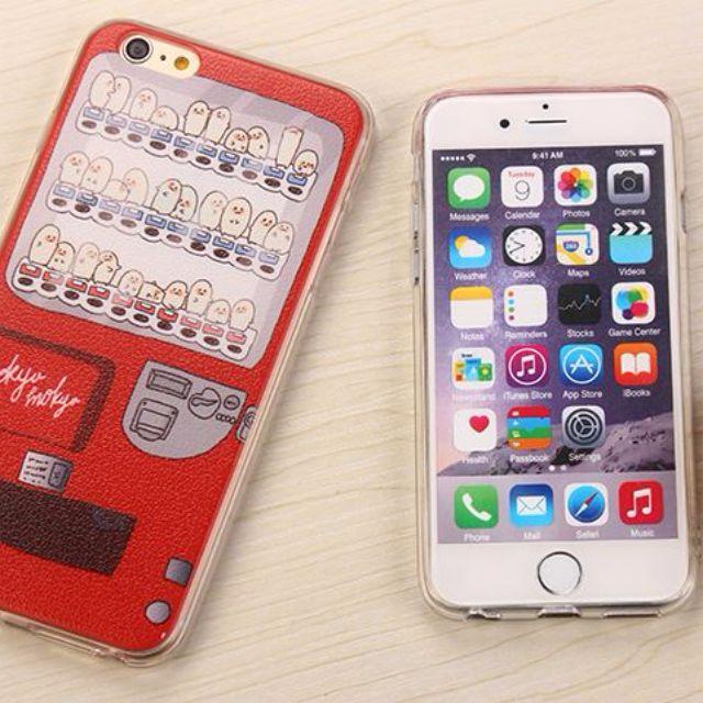 日韓創意蛋蛋販賣機保護套 iphone6、iphone6plus、5/5S