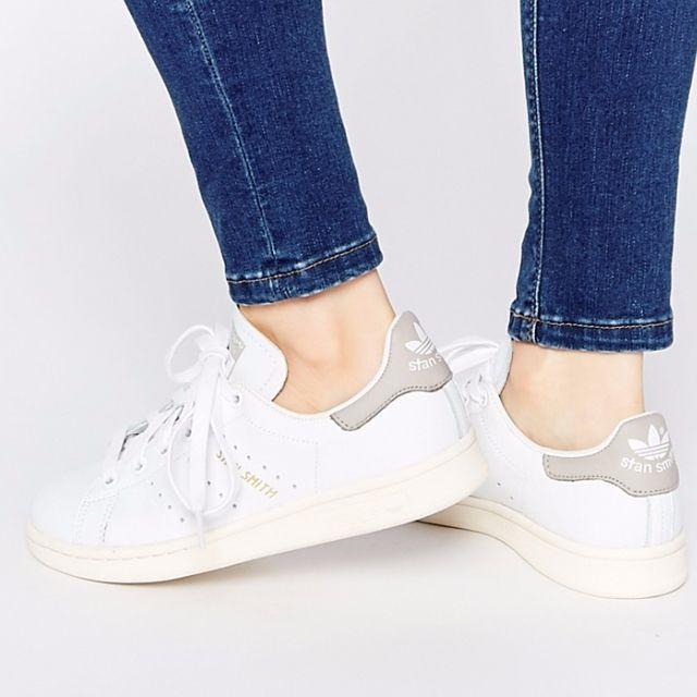 缺貨中《英國代購》Adidas Originals stan smith 灰色 奶油底 網球鞋 男鞋 女鞋