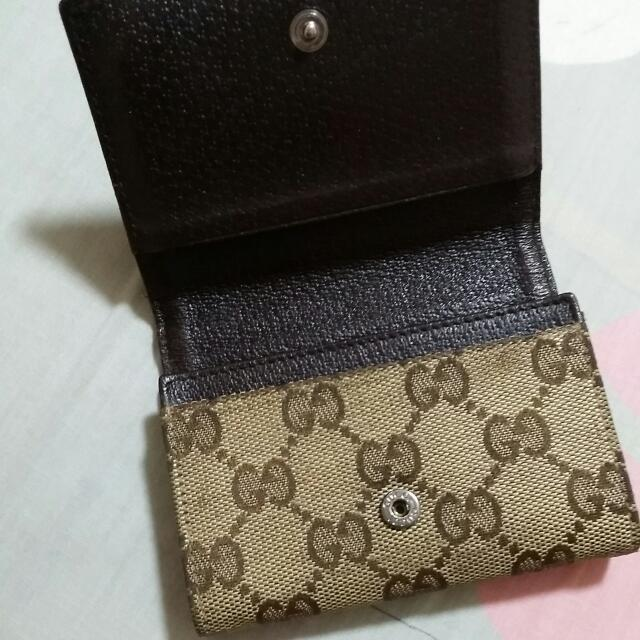 bb57e0cae1ec Authentic Gucci Namecard Holder, Luxury on Carousell