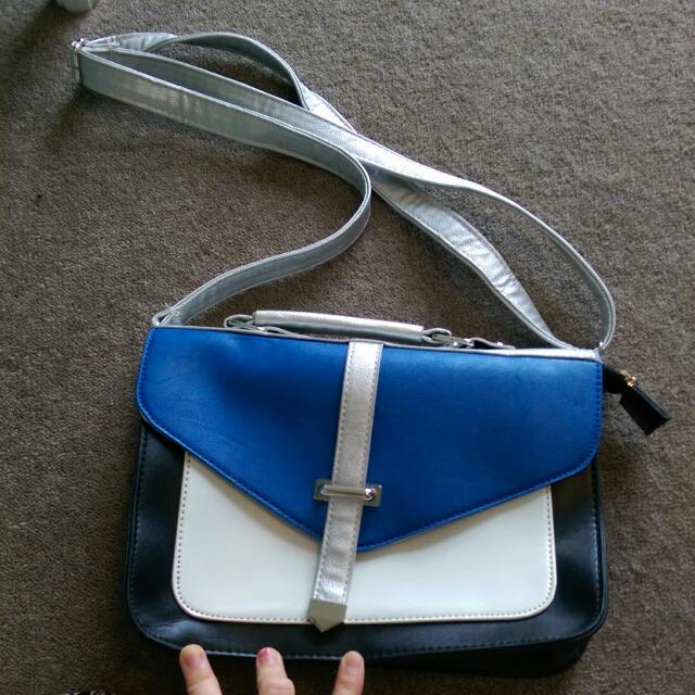 Blue Hand Bag Valley Girl