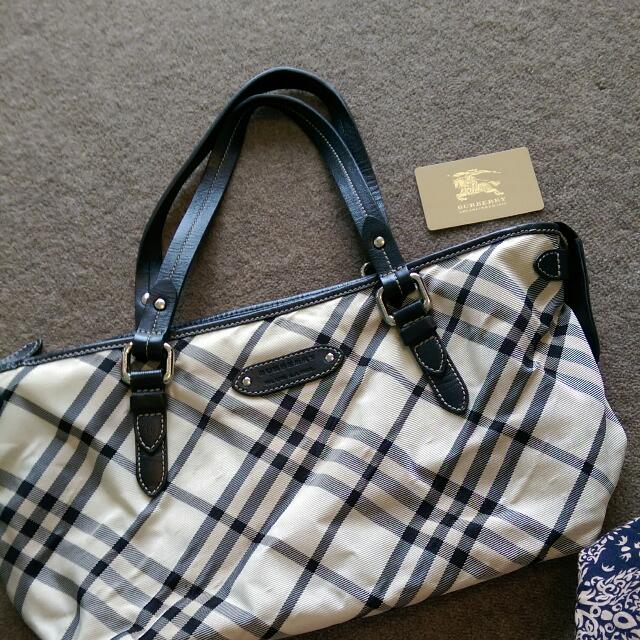 Burberry Handbag Blue Label