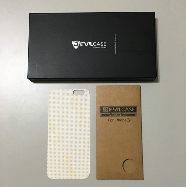 Devilcase iPhone 6/6s 背貼