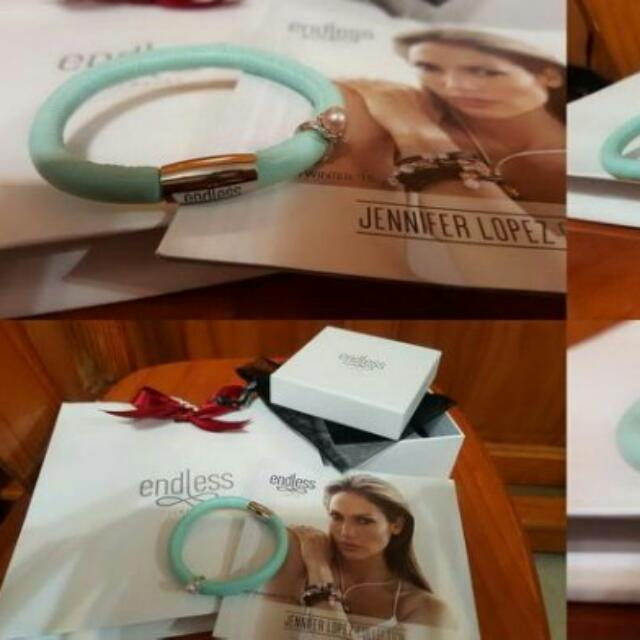 降價 Endless Jewelry 皮手環+銀串飾~來自丹麥新品牌 珍妮佛蘿佩茲設計 非Pandora $2800