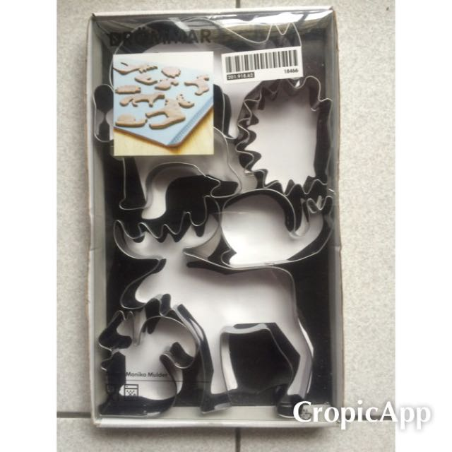 IKEA 聖誕節 麋鹿 餅乾模 烘焙模具