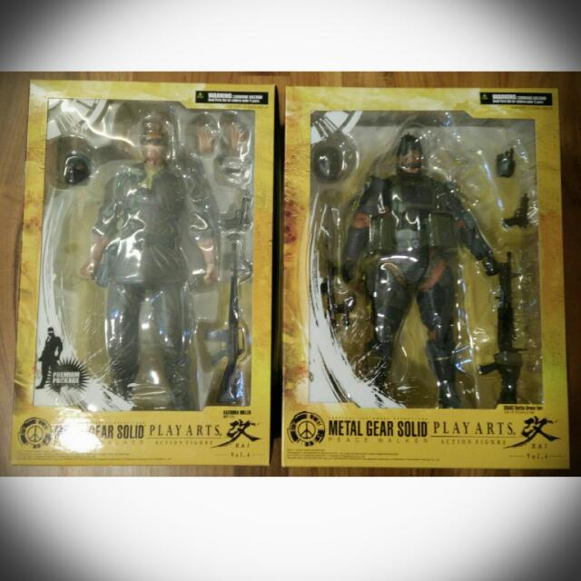 New Play Arts Kai Metal Gear Solid Peace Walker Kazuhira Miller Action F S Collectibles Other Anime Collectibles Or did i just triggered some sidequest? بیسیم ایران