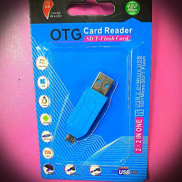 OTG Card  Reader SD/T-Flash  Card