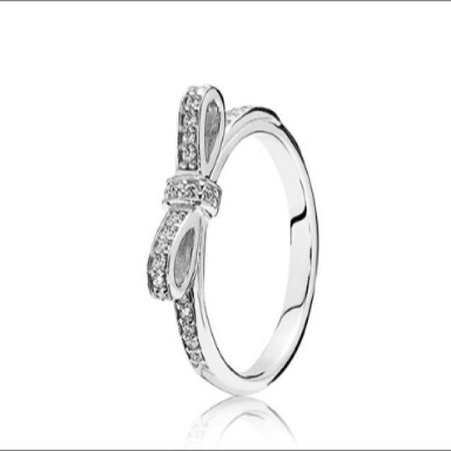 Pandora Ribbon Ring