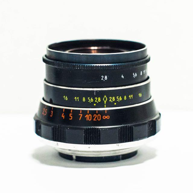 Russian Industar-61 L/D 55mm F2.8 Lens