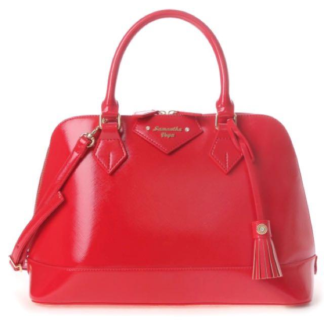 Samantha vega紅色大袋