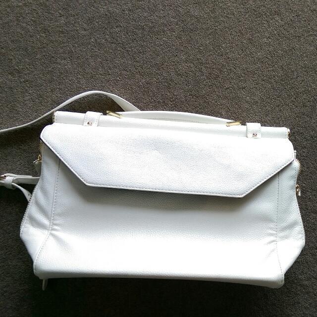 White Handbag Forever 21