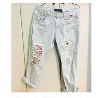 造型男友褲